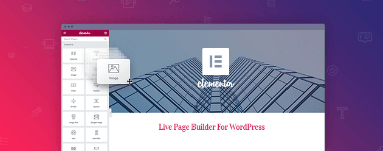 Elementor Page Builder Plugin Free