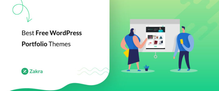 20 Best Free WordPress Portfolio Themes for 2020
