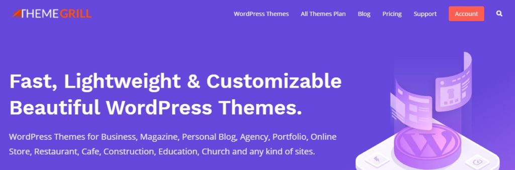 WordPress Themes Shop