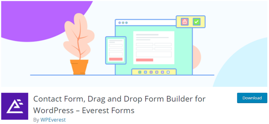 create a contact form in wordpress