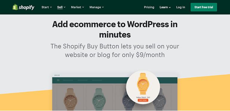 Shopify for WordPress