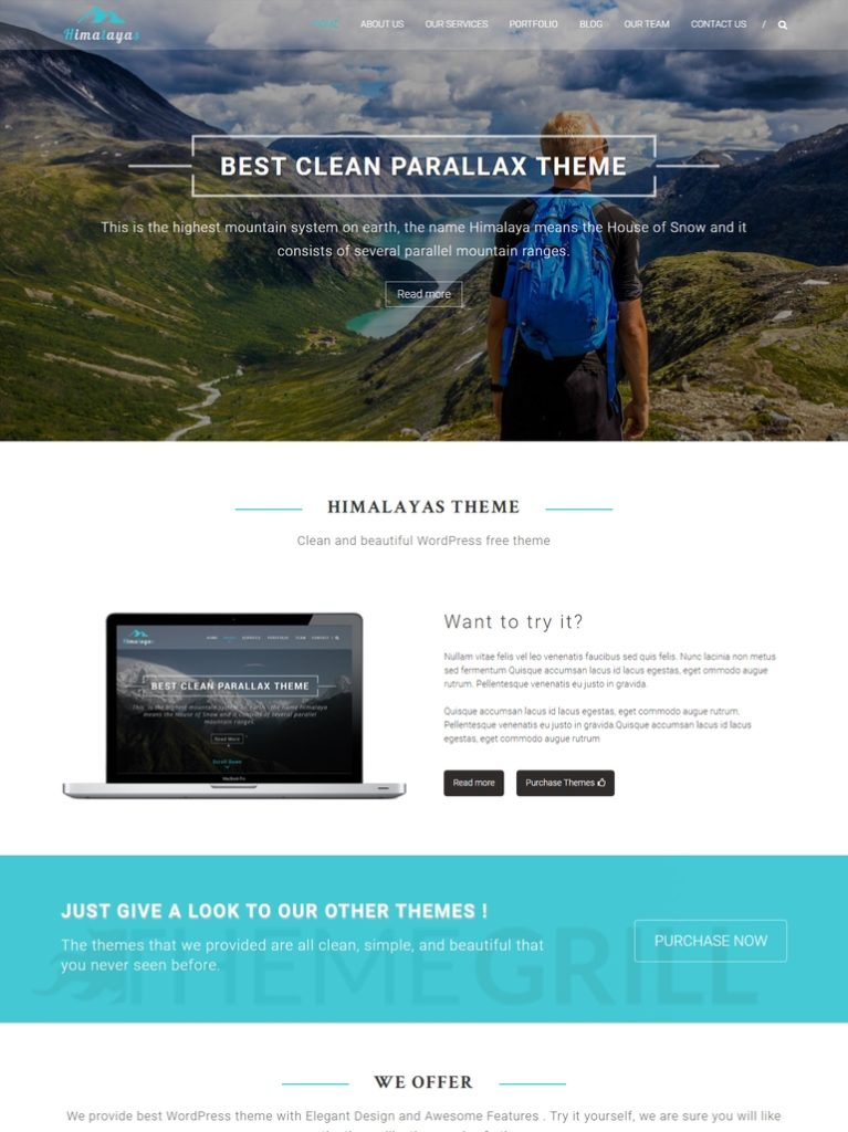 best wordpress theme for brizy builder