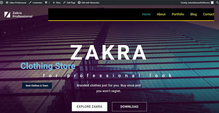 Homepage Preview