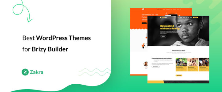25 Best WordPress Themes and Templates for Brizy Builder