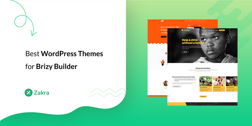 best wordpress themes for brizy builder