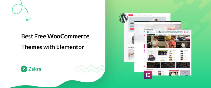 18 Best Free WooCommerce Themes with Elementor for 2020