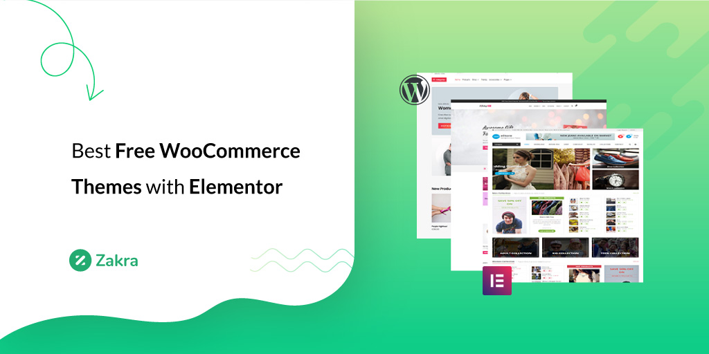 Best Free WooCommerce Themes with Elementor