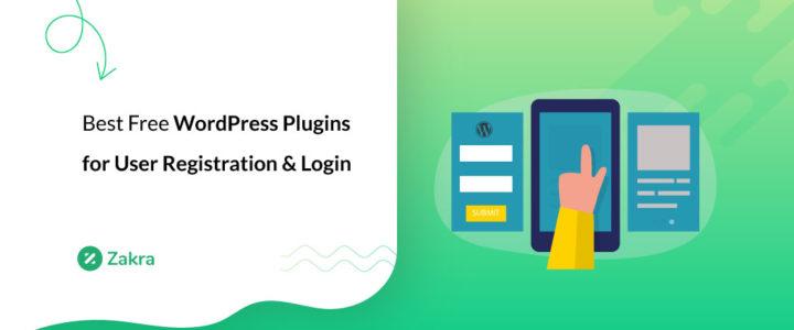 8 Best Free WordPress Plugins for User Registration & Login 2021