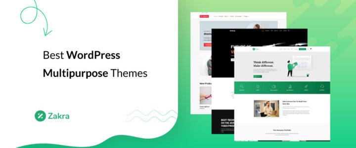 23 Best WordPress Multipurpose Themes & Templates for 2021