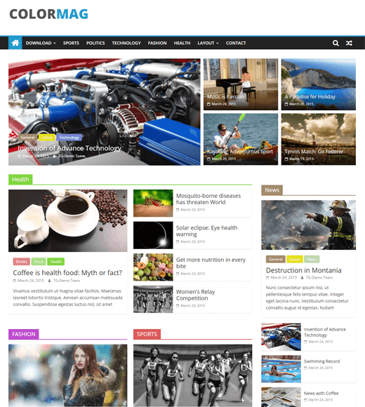ColorMag-the best WordPress-multipurpose-theme