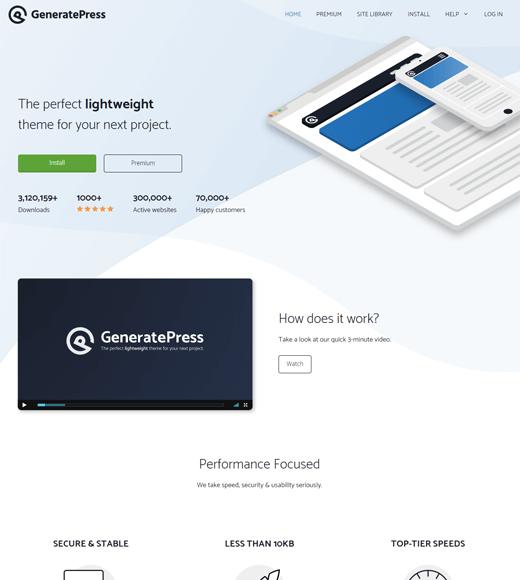 GeneratePress-theme-the-most-versatile-WordPress-theme