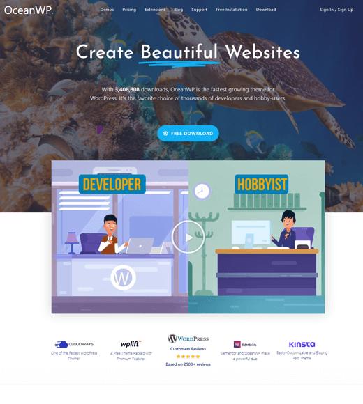 OceanWP-free-multipurpose-wordpress-theme