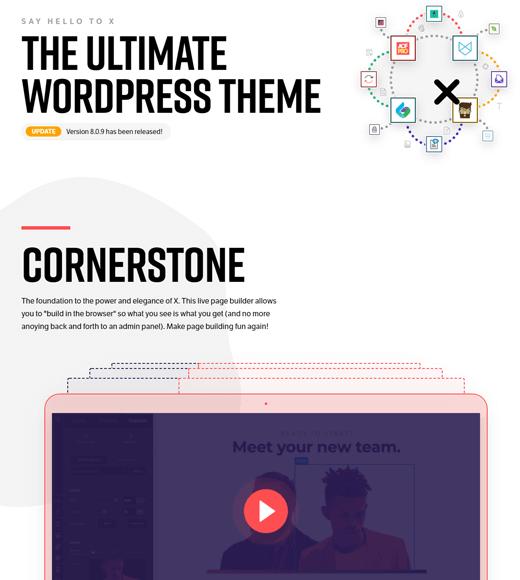 X-theme the best wordpress multipurpose theme