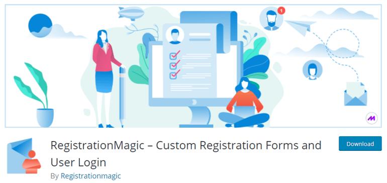 RegistrationMagic WordPress User Registration Plugin