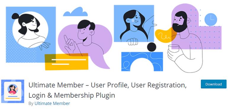 Ultimate Member the best WooCommerce plugins for user registration and login