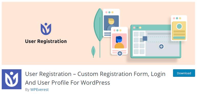 User Registration Plugin