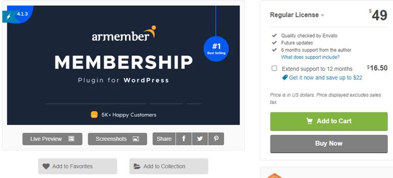 ARMember Premium Plugin for WooCommerce Registration Forms