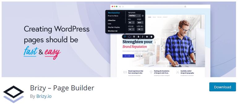Brizy Page Builder