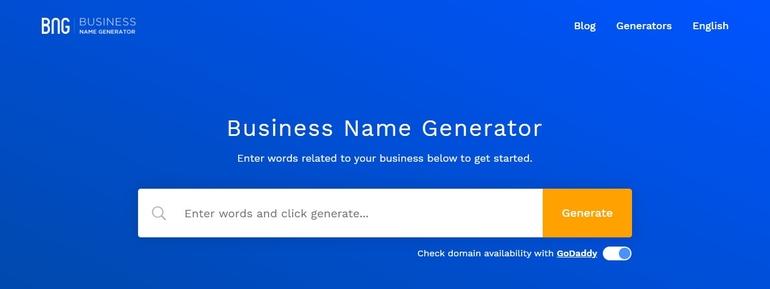 best blog name generators