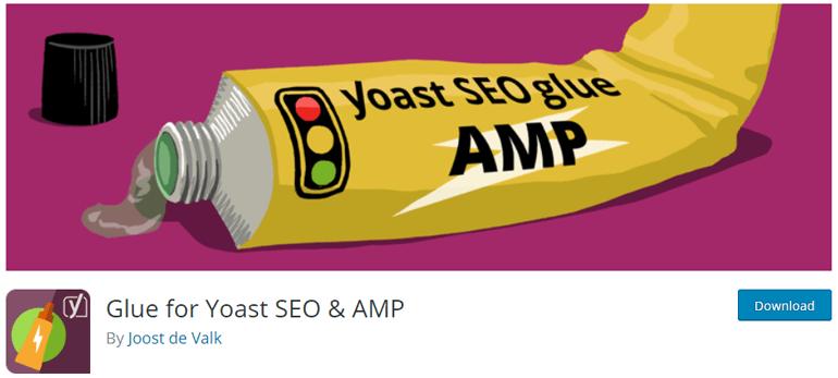 Glue for Yoast SEO & AMP best WordPress AMP plugins