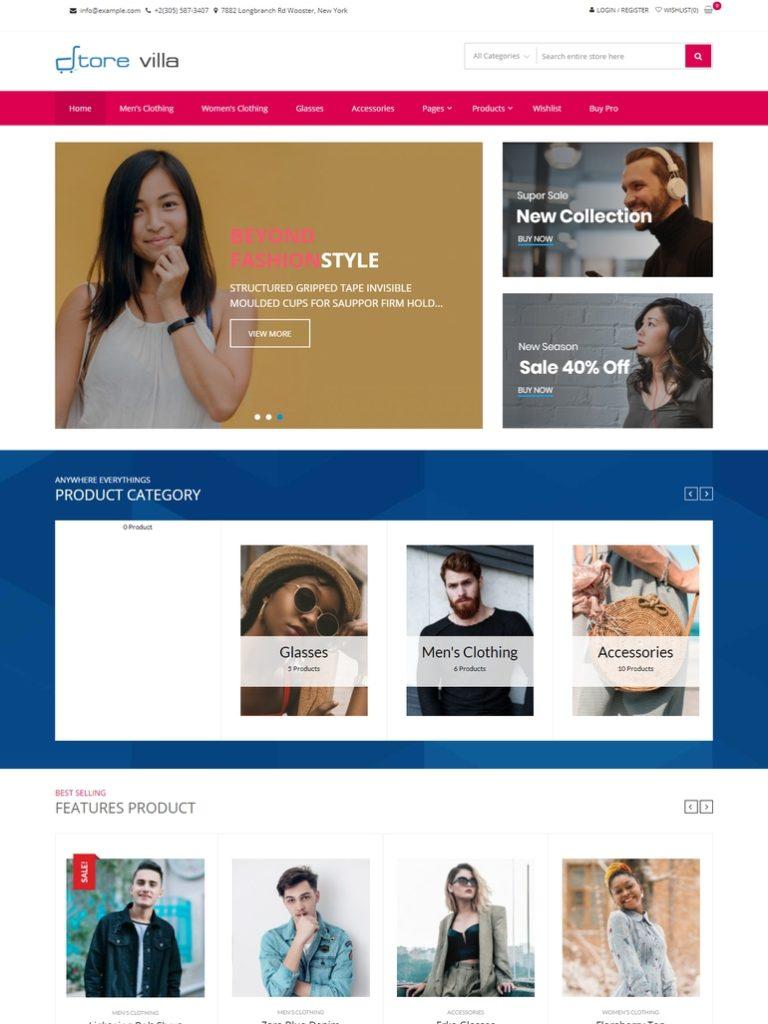 best free ecommerce wordpress theme