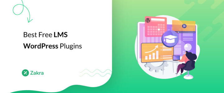 8 Best Free LMS WordPress Plugins for Online Course
