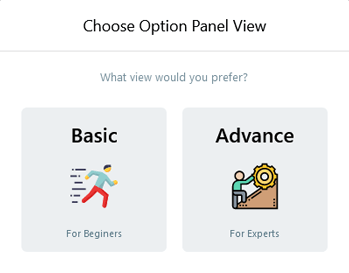 Choosing admin panel for how to set up amp in WordPress