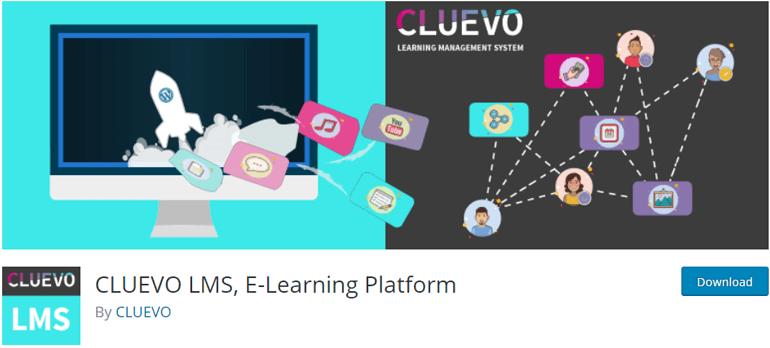 CLUEVO LMS WordPress Plugin Free