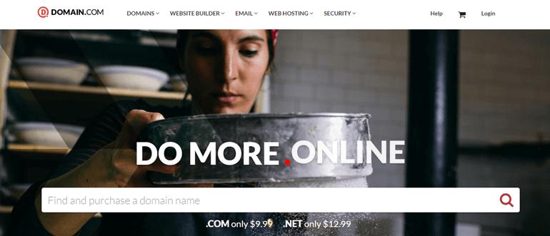 Domain.com best website for domain registration