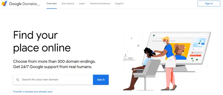 Google Domain best domain registrar