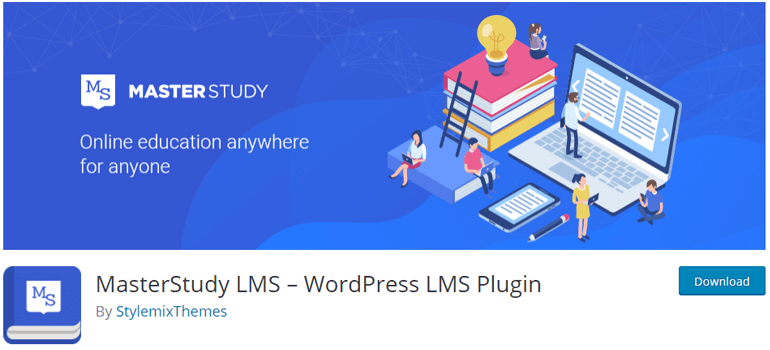 MasterStudy WordPress Online Course Plugin Free
