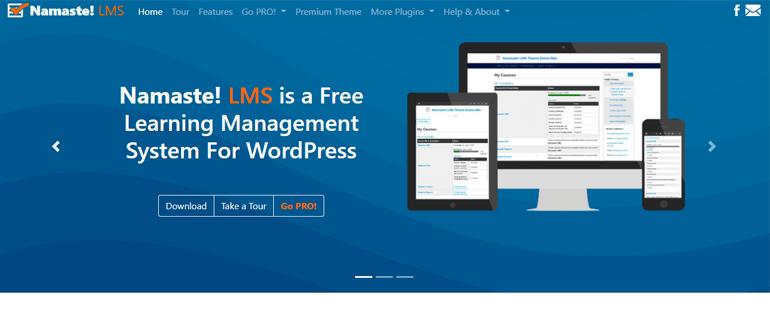 Namaste WordPress LMS Plugin