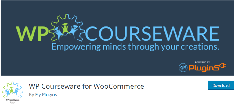 WP Courseware for WooCommerce