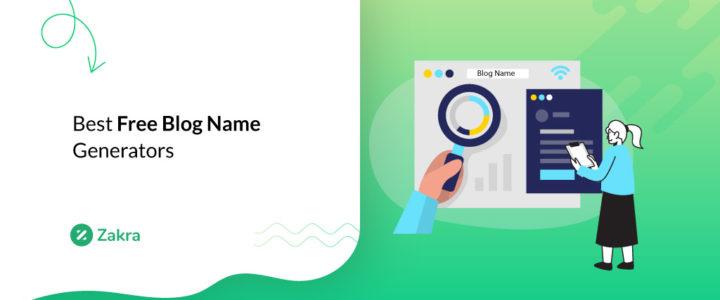 10 Best Free Blog Name Generators for 2021