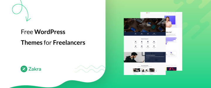 20+ Best Free WordPress Themes for Freelancers in 2021