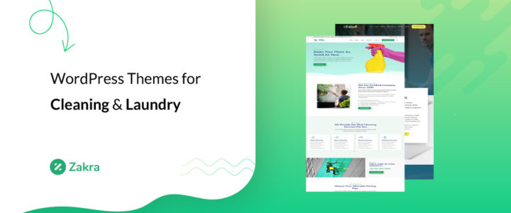 12 Best WordPress Themes for Cleaning & Laundry Services 2021