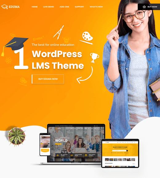 Eduma WordPress Themes for Online Courses