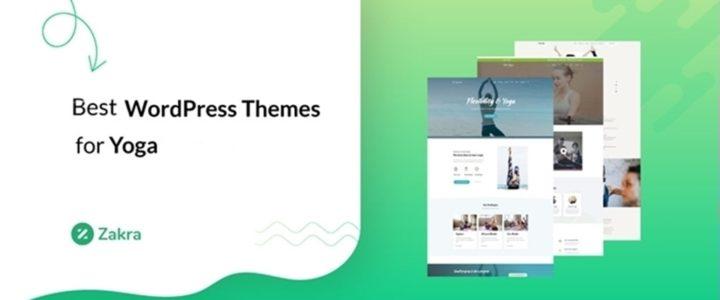 12 Best Yoga WordPress Themes