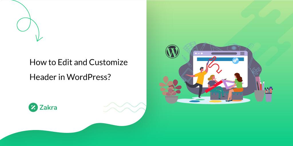 how to eidt header in wordpress