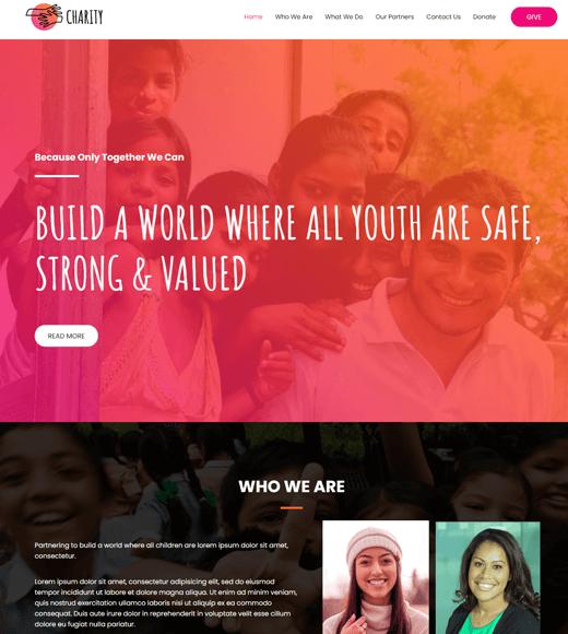 Astra Non-Profit & Charity WordPress Theme