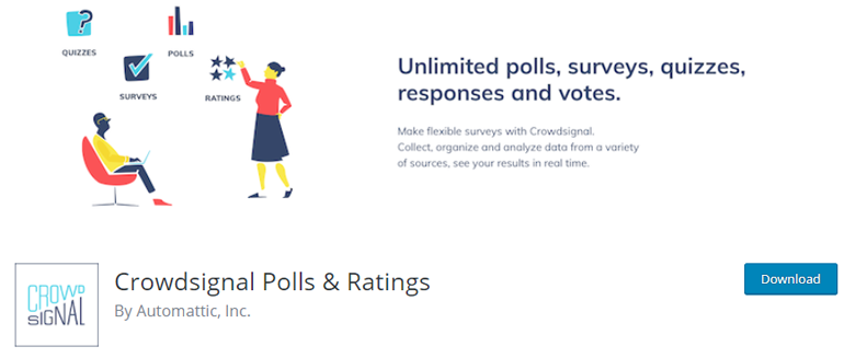 Crowdsignal Plugin for WordPress Survey