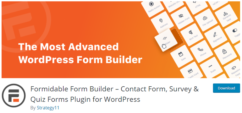 Formidable Form Builder Top Free Survey Tools