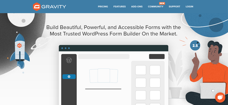 Gravity Forms for online surveys and tools and WordPress customer feedback
