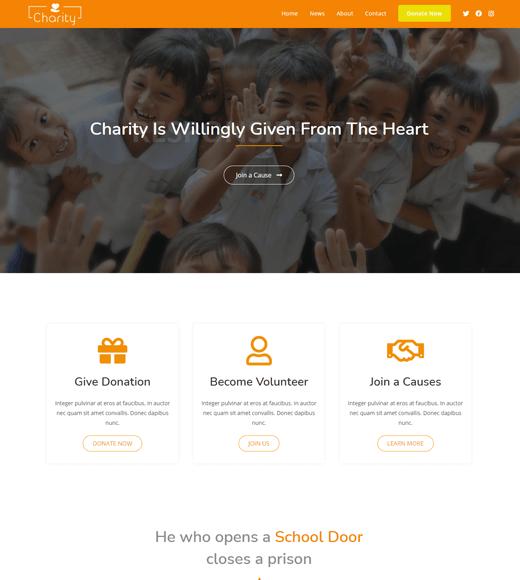 Ocean WP Charity