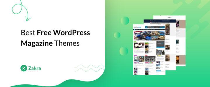 23 Best Free WordPress Magazine Themes for 2021