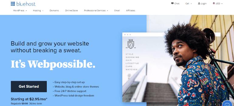 Bluehost Domain Registrar