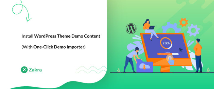 How to Import WordPress Theme Demo Content? (With ThemeGrill Demo Importer)