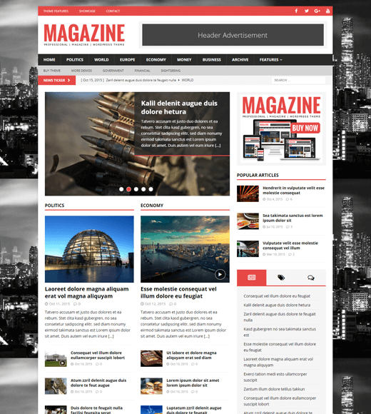 MH Magazine Best WordPress Magazine Theme
