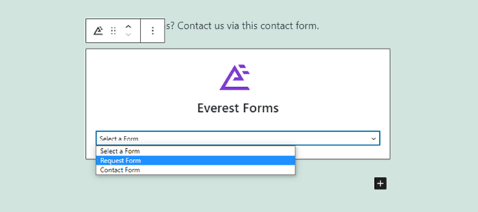 Select Form