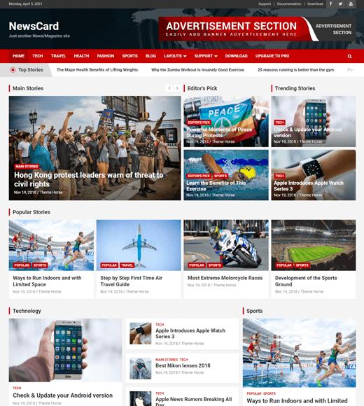 NewsCard Theme